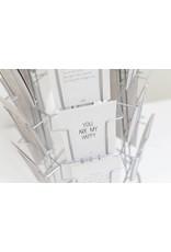 Zoedt Kaartenmolen met ruimte voor 24 grijsboard kaarten
