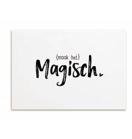 Zoedt Kaart Maak het magisch