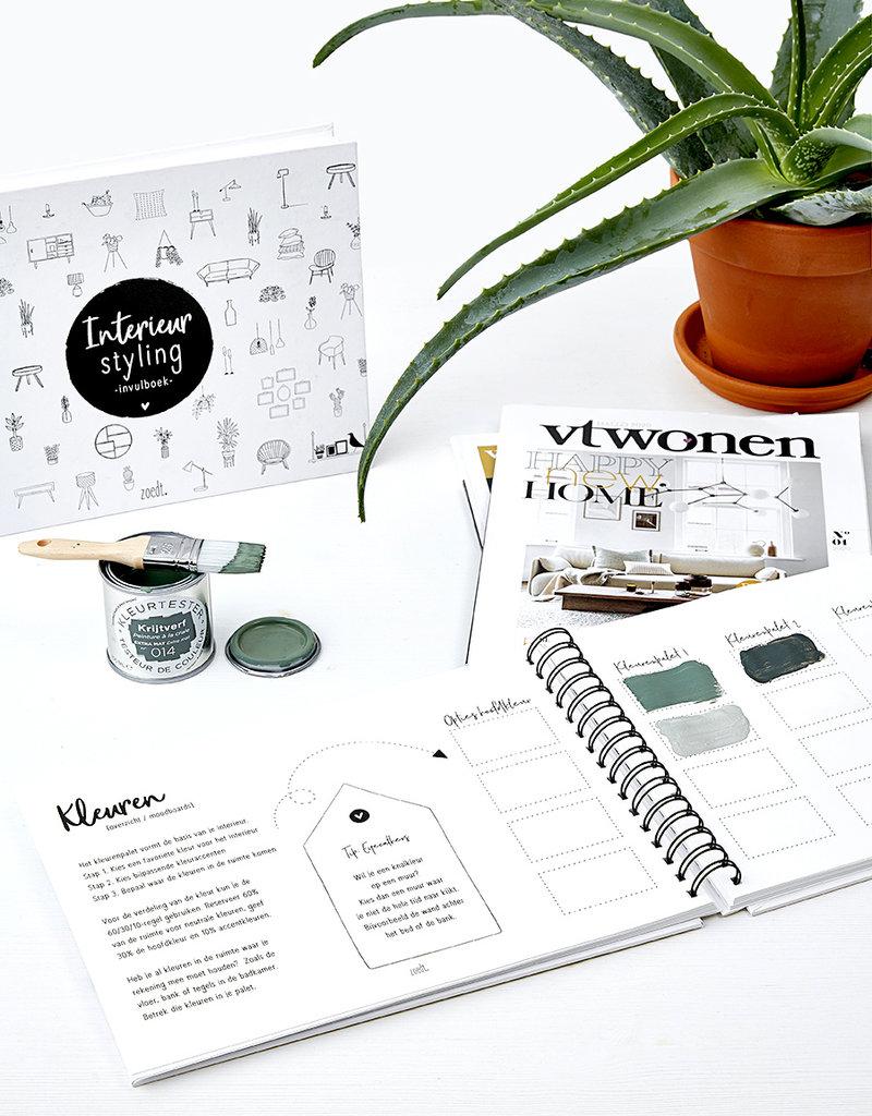 Zoedt Interieur styling - invulboek