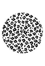 Zoedt Muurcirkel panterpatroon - voor binnen