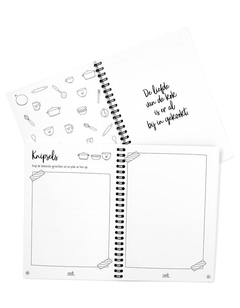 Zoedt Invulboek voor al je recepten