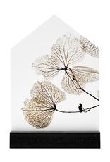 Zoedt Huisje met gedroogde bladeren in cadeauverpakking - Iets moois voor thuis