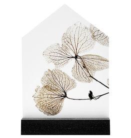 Zoedt Iets moois voor thuis, cadeautje: huisje met gedroogde bladeren