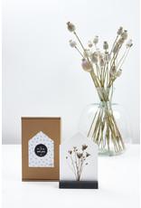 Zoedt Huisje met droogbloemen' in cadeauverpakking