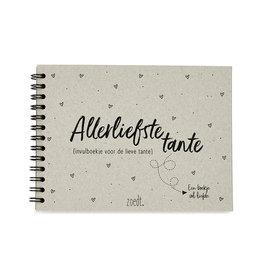 Zoedt Invulboekje voor de allerliefste tante