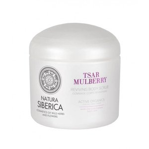 Natura Siberica Tsar mulberry body scrub, 370ml