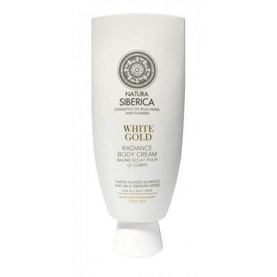 Natura Siberica  Radiance body cream, White gold, 200ml