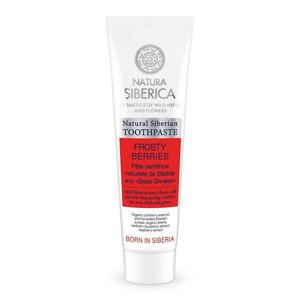 Natura Siberica Natural Siberian toothpaste Frosty berries, 100gr