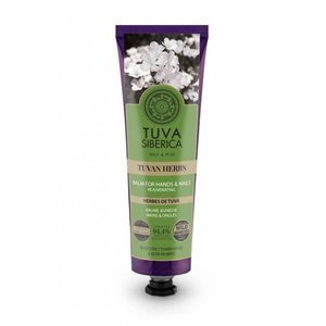 Tuva Siberica Tuvan Herbs, Rejuvenating Balm For Hands And Nails, 75 ml