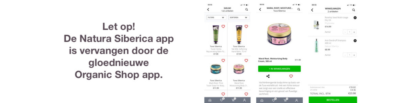 Organic Shop app