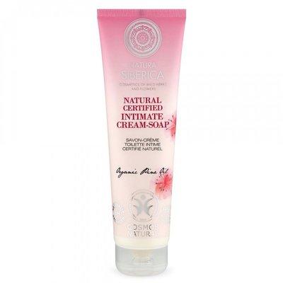 Natura Siberica Natural certified intimate  Cream-Soap, 140ml