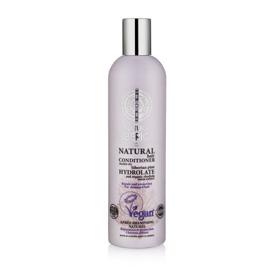 Natura Siberica Certified Organic Conditioner Repair And Protection For Damaged Hair 400ml.