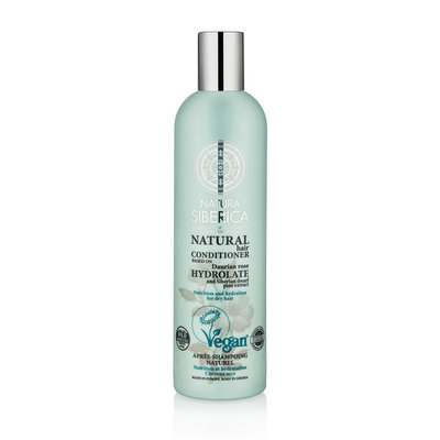 Natura Siberica Certified Organic Conditioner Nutrition And Hydration For Dry Hair 400ml.