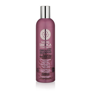 Natura Siberica Certified Organic Shampoo. Colour Revival And Shine For Dyed Hair 400ml.