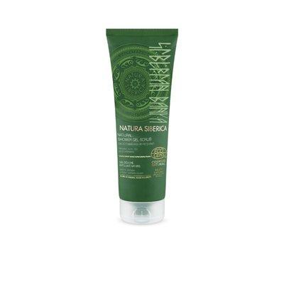 Natura Siberica Natural Shower Gel Scrub Smoothing & Refreshing 200ml