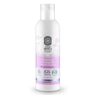 Natura Siberica Moisturizing Cleansing Milk 200 ml