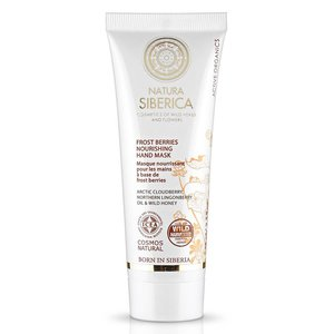 Natura Siberica Frost Berries Nourishing Hand Mask 75 ml