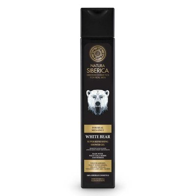 Natura Siberica White Bear Super Refreshing Shower Gel 250 ml