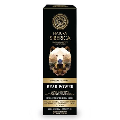 Natura Siberica Bear Power Anti-Wrinkle Face Cream 50 ml