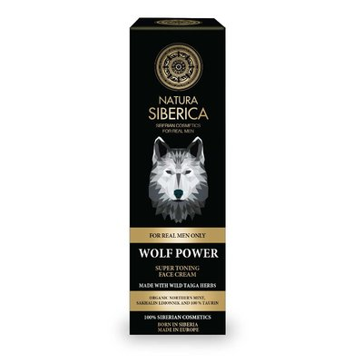 Natura Siberica Wolf Power Super Toning Face Cream 50 ml