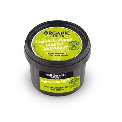 Organic Kitchen Natuurlijke hydraterende handcrème, 100 ml