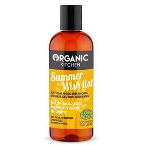 Organic Kitchen Natürliches stimmungsaufhellendes Duschgel, 260 ml
