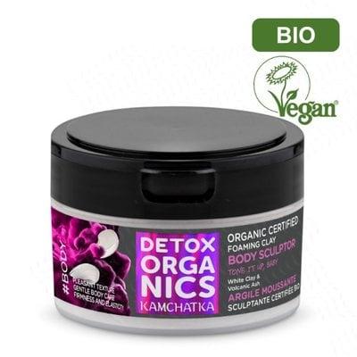 Detox Organics Modellerende schuimende klei - biologisch gecertificeerd