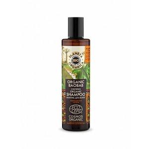Planeta Organica Biologische Baobab gecertificeerde bio shampoo, 280 ml