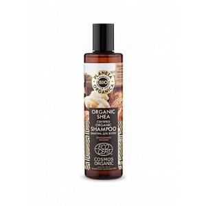 Planeta Organica Bio-Shea Zertifiziertes Bio-Shampoo, 280 ml