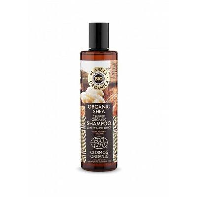 Planeta Organica Biologische Shea gecertificeerde biologische shampoo, 280 ml