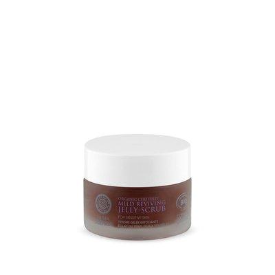 Natura Siberica Milde revitaliserende jelly scrub voor de gevoelige huid, 50 ml