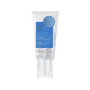 Natura Siberica Balancierende Nacht-Gesichtscreme-Fluid für fettige & gemischte Haut, 50 ml