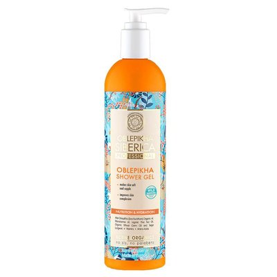 "Natura Siberica Oblepikha Shower Gel ""Intensive Nutrition & Hydration"" 400 ml"
