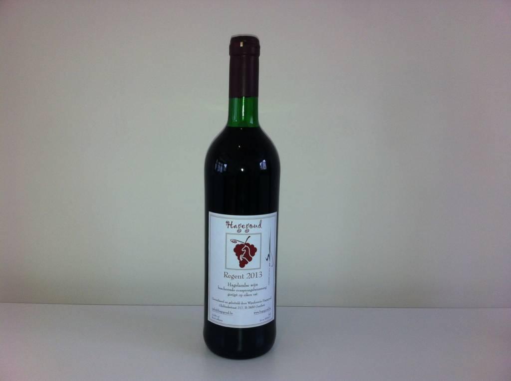 Hagegoud Regent - Hagelandse rode wijn