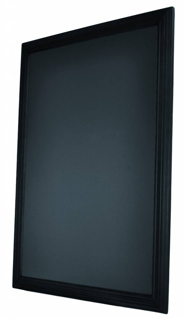 krijtbord 70x90cm zwart