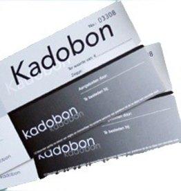 CADEAUBON ZWART 10X15CM INCL ENVELOP 50STS