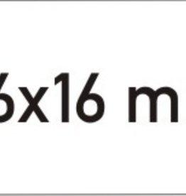 ETIKETTEN RECHT AFN WIT 26*16 36RX1000=36000ST