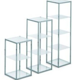 SHOWCASE 4 PLEXI TABL. 34X34X89,5H