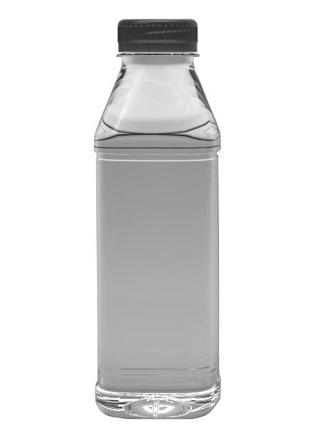 E-proPlast Milchflasche PET | eckig | 1 l