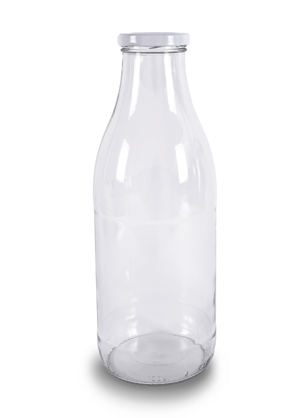 Milchflasche Glas | 1 l