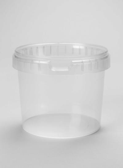 RPC Superfos Rundbecher | 1.000 ml klar | mit Deckel