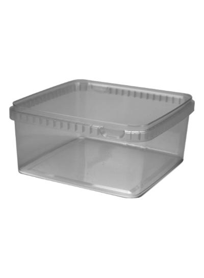 Quadratschale | 2.000 ml klar
