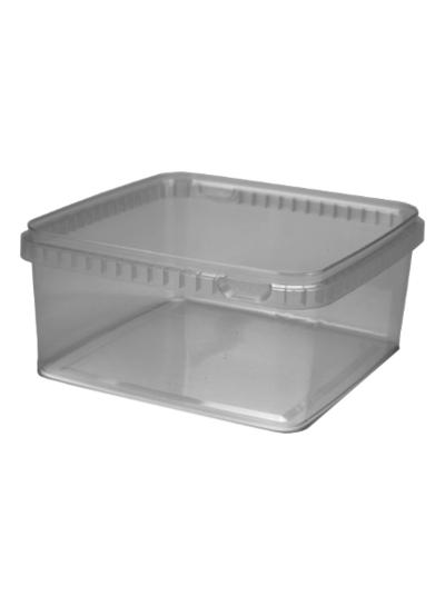 Quadratschale | 2.500 ml klar