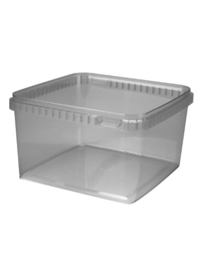 Quadratschale | 3.000 ml klar