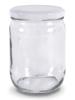 Joghurt & Quark Glas - 550 ml - mit Deckel