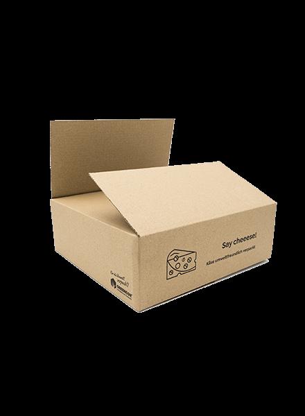 Karton für Käseversand | Say Cheeese
