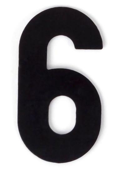 Kaseinzahlen | Nr. 6 | schwarz