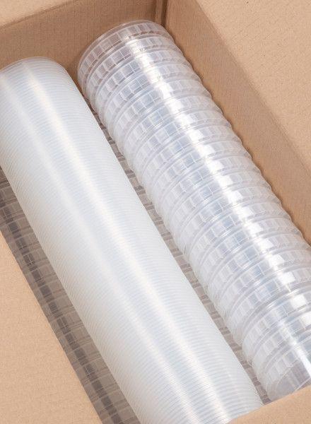 RPC Superfos 410 ml klar   Ø 118 mm   100er Pack