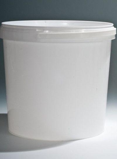 RPC Superfos Rundeimer | 10,8 l weiß | Ø 267 mm | mit Henkel