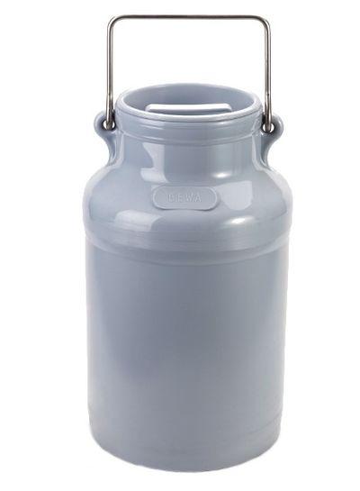 Milchkanne 10l | PE | grau